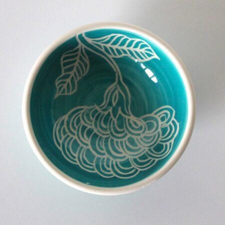 Dariya Gratte Mishima Dish Teal