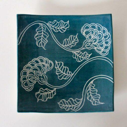 Dariya Gratte Mishima Sushi Plate Dark Blue