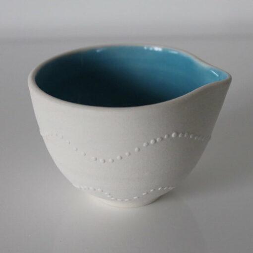 Dariya Gratte Sea Urchin Jug Blue