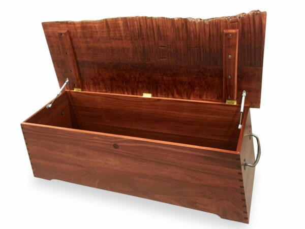 Flame Jarrah Blanket Chest Fine Art
