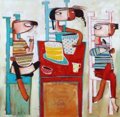 Janine Daddo   100s & 1000s Fine Art