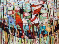 Janine Daddo   Bridge Crossing Fine Art