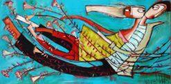 Janine Daddo   Runaway With Me Fine Art