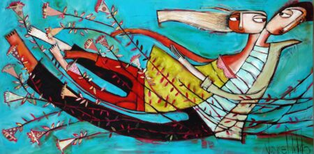 Janine Daddo Runaway With Me Painting