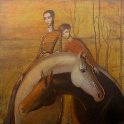 Lauren Wilhelm   Arms Around A Memory II Fine Art
