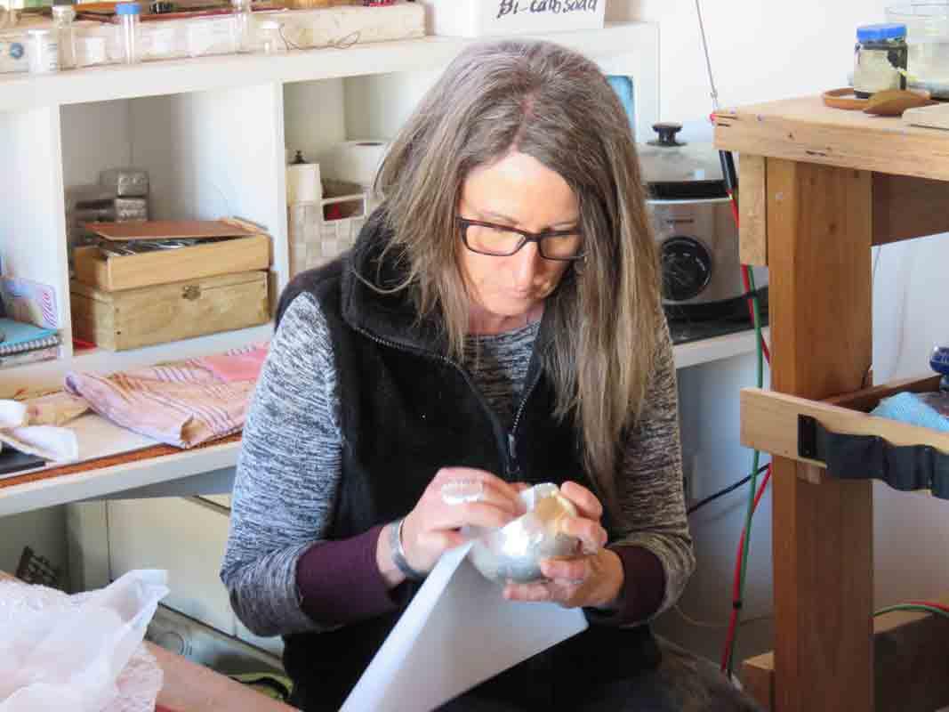 Michelle Gauntlett Artist Studio 6