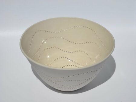 Dgr35 Dariya Gratte Piereced Porcelain Bowl 170