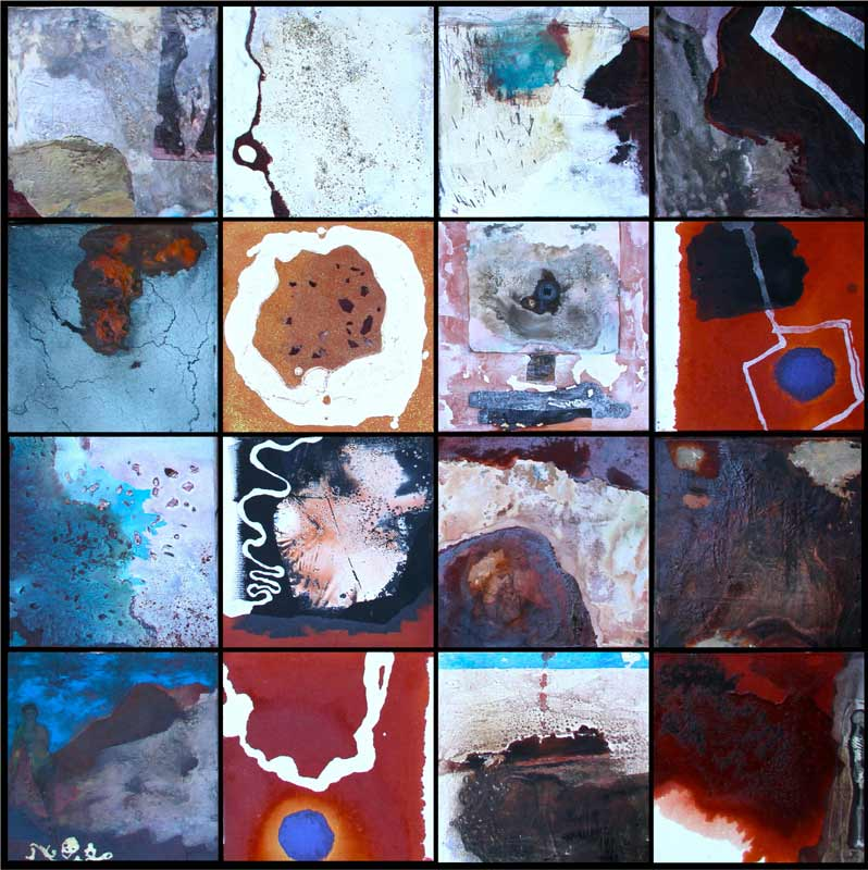 Bec Juniper Assembly Of Thoughts Painting
