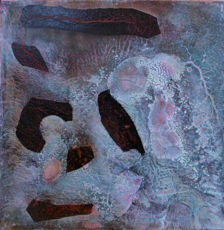 Bec Juniper Covnersations On Granite At Redgate Painting