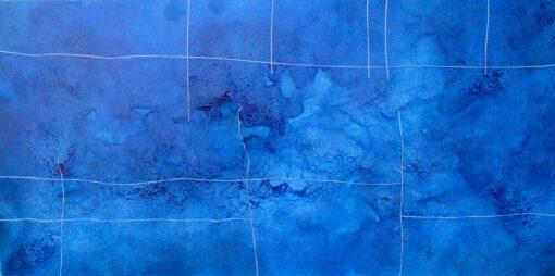Bec Juniper Infused Antarctic Blue Painting
