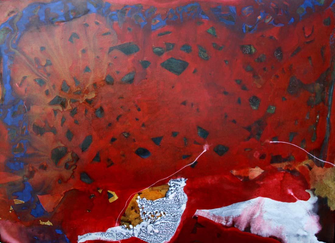 Bec Juniper Rose Interior And Matisses Snail Painting