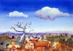 Helen Norton   Prize Bull Fine Art