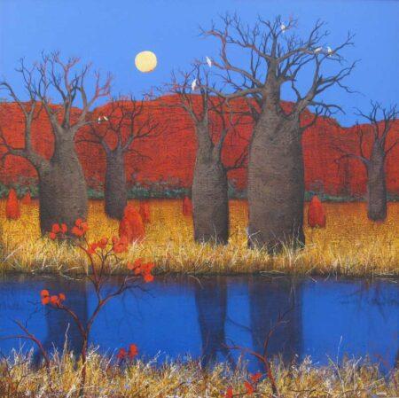 Ingrid Windram Kimberley Red 2 Painting