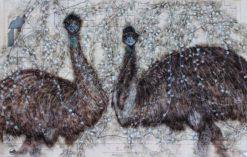 Kay Gibson   Emu Idiom Fine Art