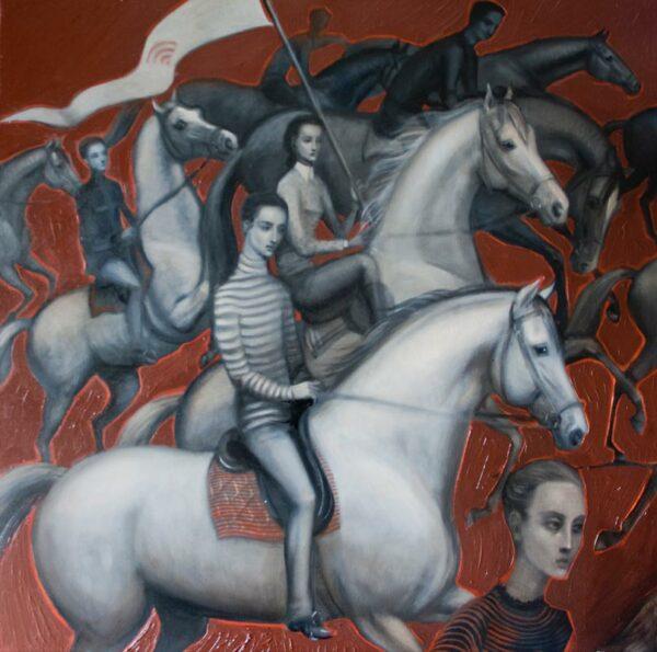 Lauren Wilhelm Onwards Faster Painting
