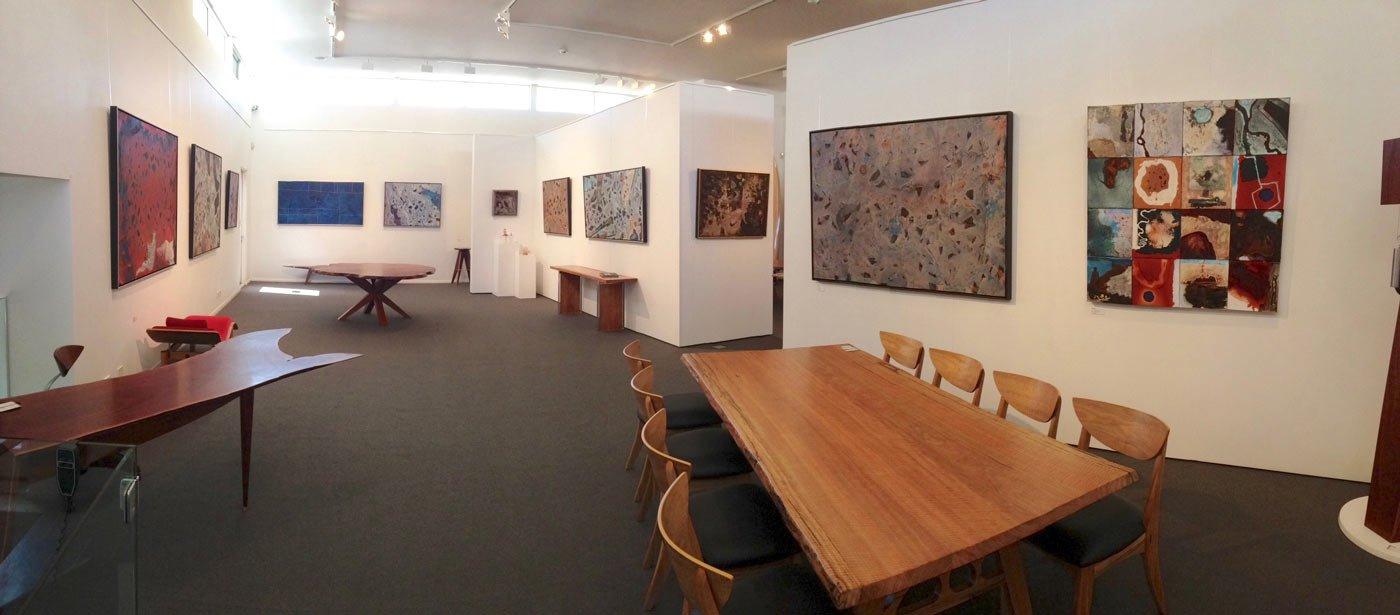 Bec Juniper Exhibition Hanging