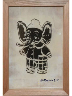 David Bromley   Best Friend Elephant Fine Art