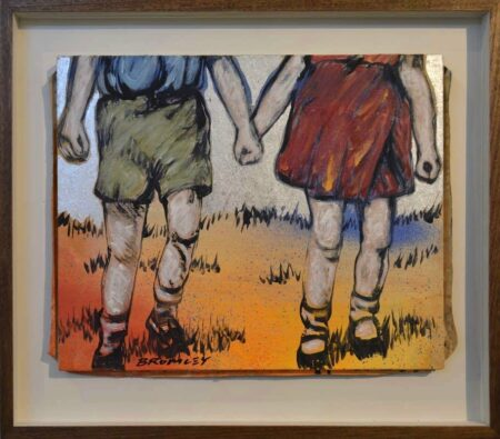 David Bromley Hand In Hand Painting