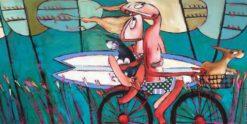 Janine Daddo   Sea Sea Wonderful Sea Fine Art