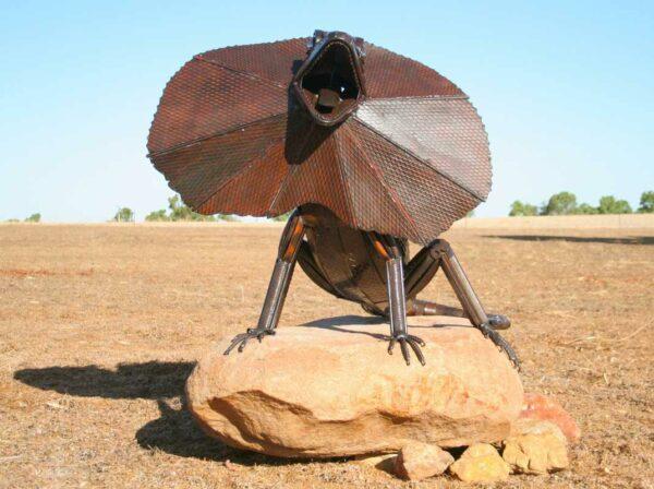 Jordan Sprigg King Of The Rock Sculpture 2