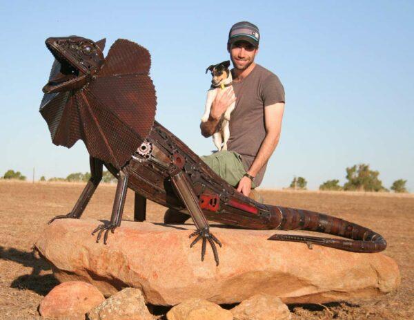 Jordan Sprigg King Of The Rock Sculpture 5