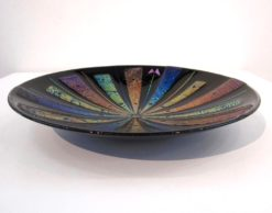 Nada Kesic   Butterfly Glass Platter Fine Art