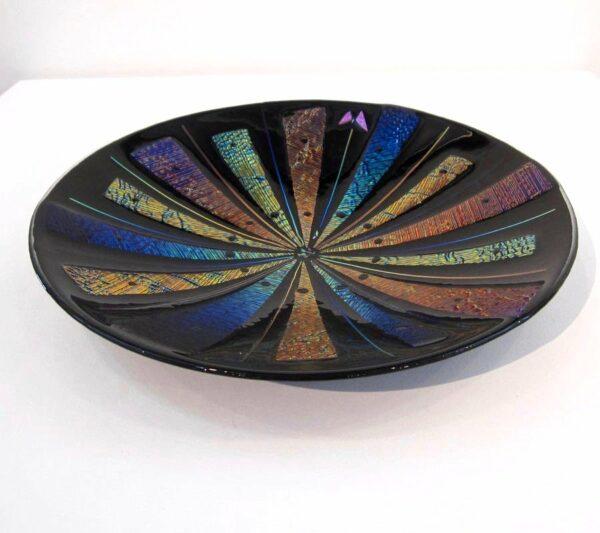 Nada Kesic Butterfly Glass Platter Top