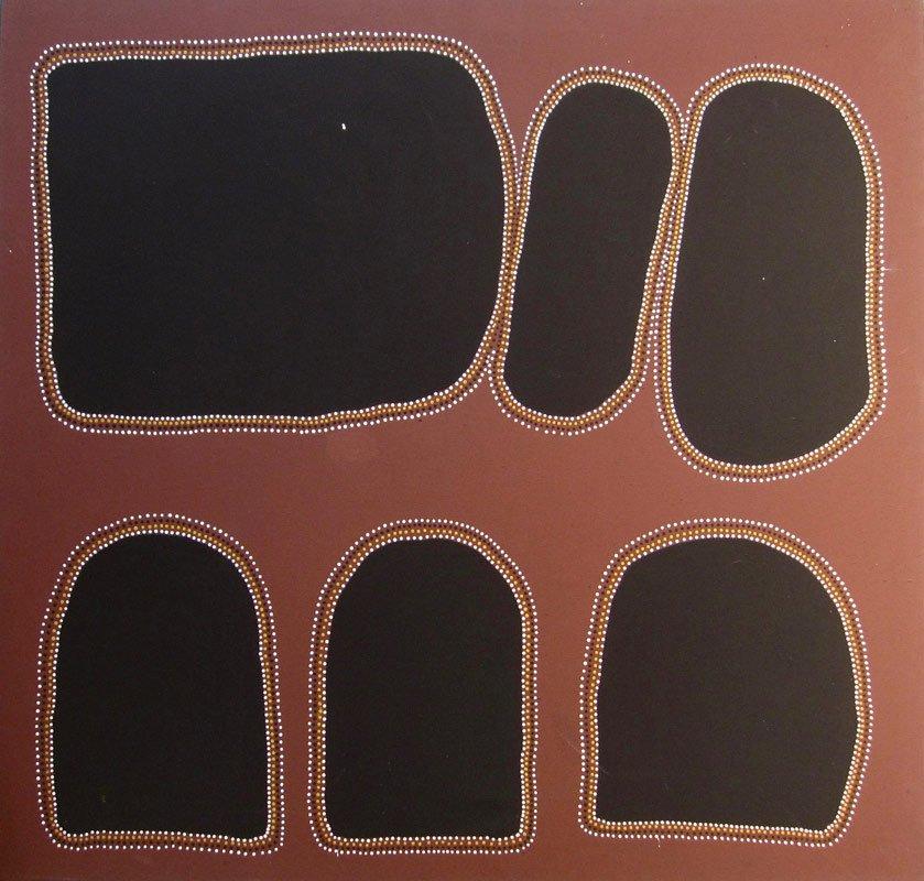 Billy Duncan Moornboo Boorlga Country Aboriginal Painting