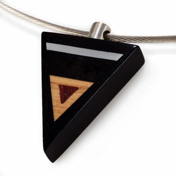Brendan Collins Arrow Timber Necklace