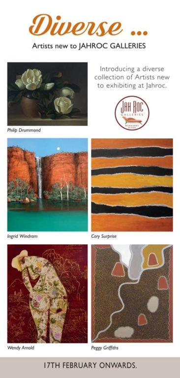 Diverse Exhibition Leeuwin New Artists