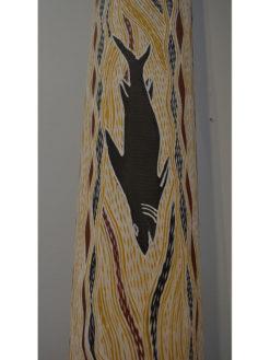 Djambawa Marawili   Memorial Pole, Larrakitj Fine Art
