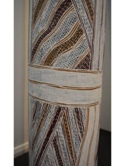 Galuma Maymuru   Memorial Pole, Larrakitj Fine Art