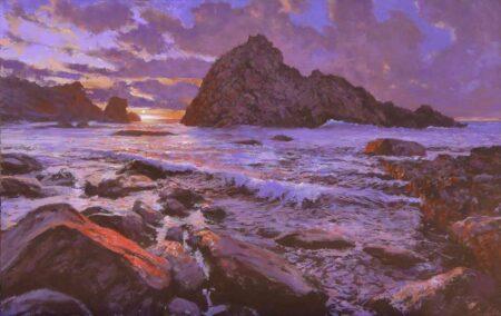 Simon Collins Sugar Loaf Painting
