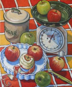 Susan Tingay   Sweet as Apple Fine Art