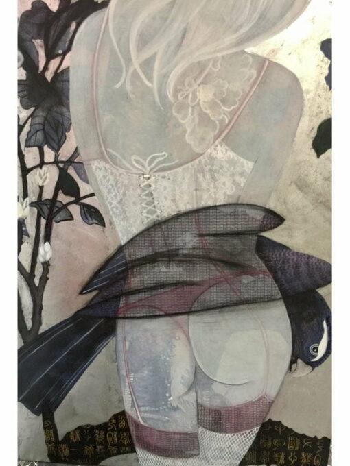Wendy Arnold Mi Mi Painting