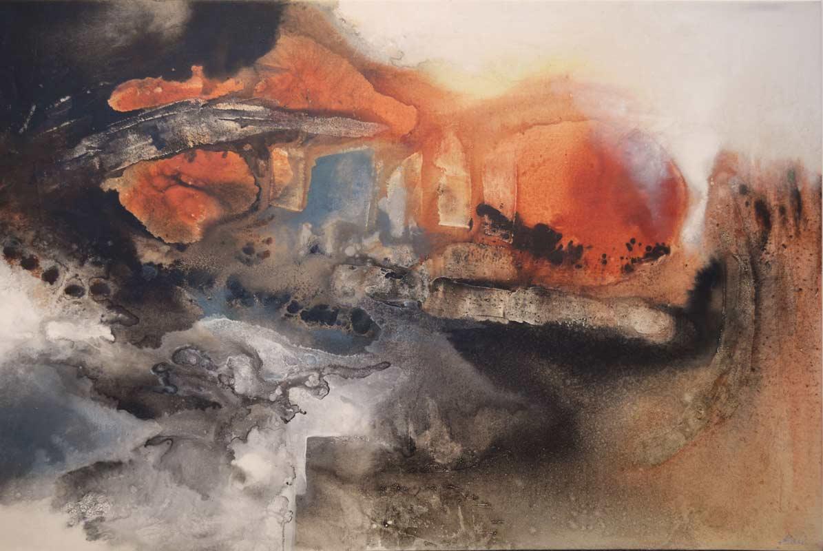 Astrid Dahl Evening Sun Painting