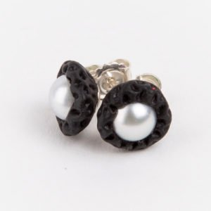 Evelyn Henschke - Pearl Stud Drop Earrings