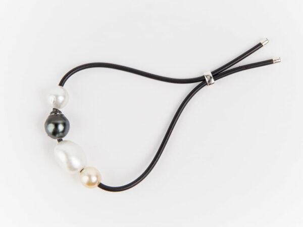 Evelyn Henschke South Sea 4 Pearl Adjustable Bracelet