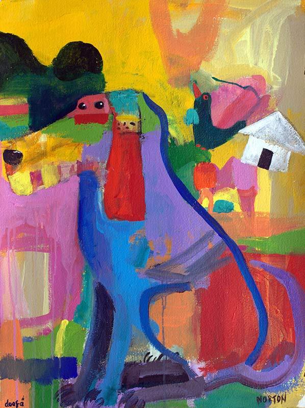 Helen Norton Doofa Painting
