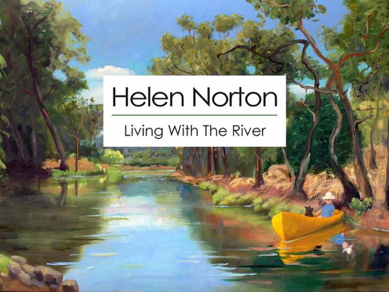 Helen Norton Exhibition Living With The River April 2017 Fine Art