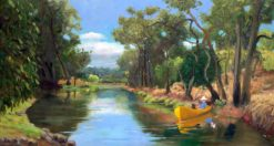 Helen Norton   River Boat Fine Art