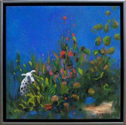 Helen Norton Sue Dog framed 247x245