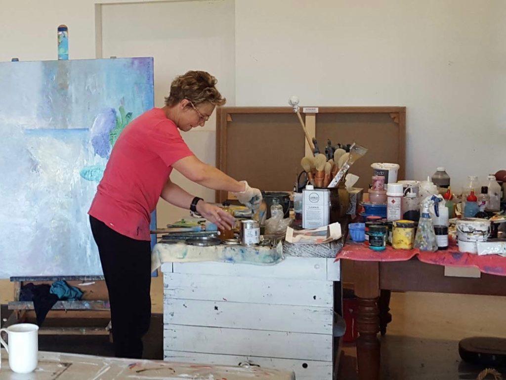 Helen Norton In The Studio 2