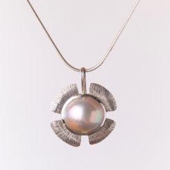Jane Liddon   Little Islands Pearl Necklace Fine Art