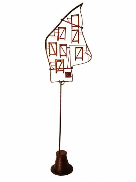 Jon Denaro Victory Mansions Sculpture