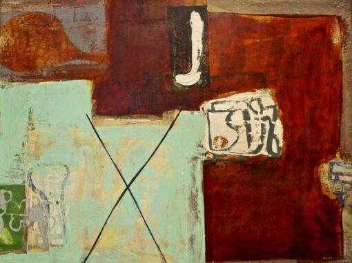 Jon Denaro Wheatbix And Kerosene Painting