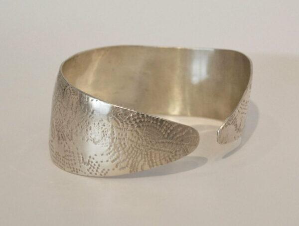 Michelle Gauntlett Silver Cuff Bracelet