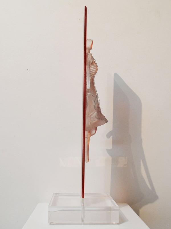 Nke05 Nadia Kesic The Dress Sunset 58X19X17Cm Side 1800