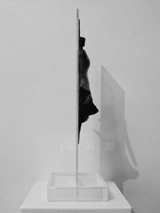 Nadia Kesic The Dress Moonlight S Glass Sculpture