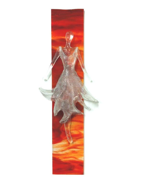 Nadia Kesic The Dress Sunset D Glass Sculpture